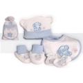 Baby 4 Pcs Gift Set Blue