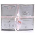 4 Pcs Baby Clothing Set (Apple)