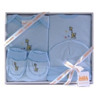 Baby 4 Pcs Clothing Set Blue