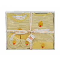 Baby 4 Pcs Clothing Set Yellow