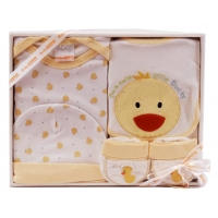 Baby 4 Pcs Clothing  Set Duck