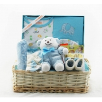 Baby Basket tray Blue