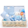 Baby Gift Basket Tray Blue