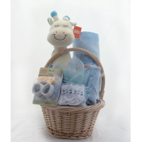 Baby Gift Basket Blue