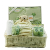 Baby Basket Tray Green
