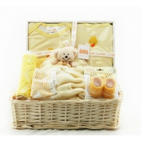 Baby Basket tray Yellow