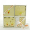 Baby 5 Pcs Gift Set Yellow