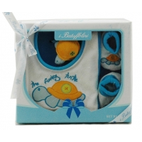 Baby 3 Pcs Gift Set Blue