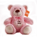Get Well Soon Bear Pink 10""