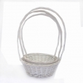 Willow Basket White Set of 3