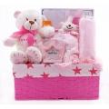 Baby Gift Basket Pink