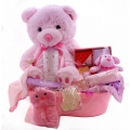 Baby Gift Tub Pink