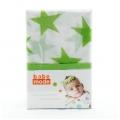 Muslin Wraps Lime Star