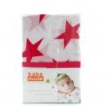 Muslin Wraps Pink Star