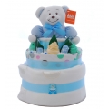 Nappy Cake Blue Bear