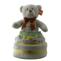 Nappy Cake Bear Cream